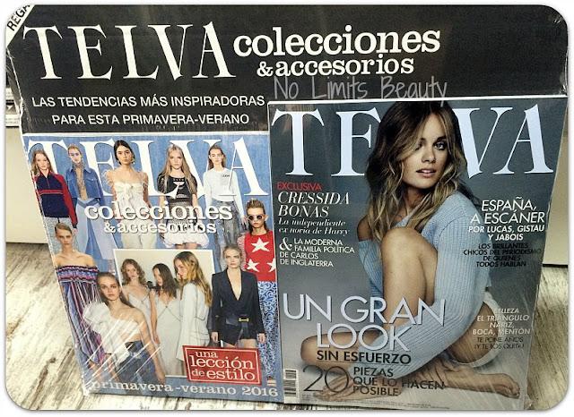 Regalos revistas marzo 2016: Telva