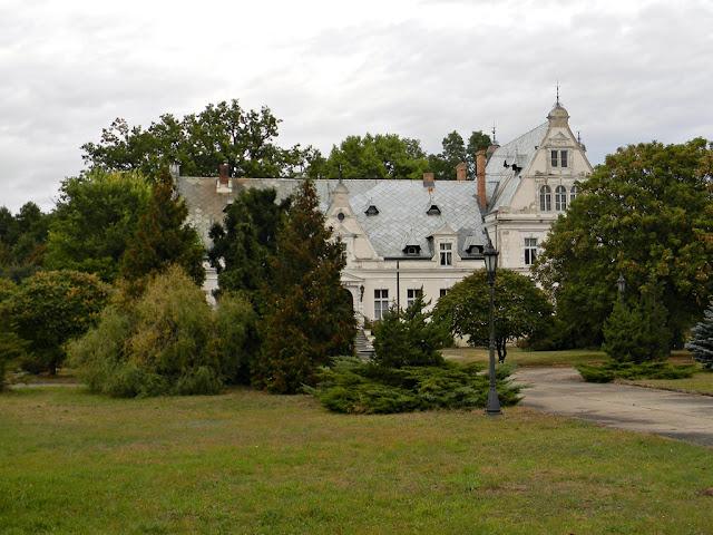 pałac, Ojerzyce, park, hotel, zabytek, Świebodzin