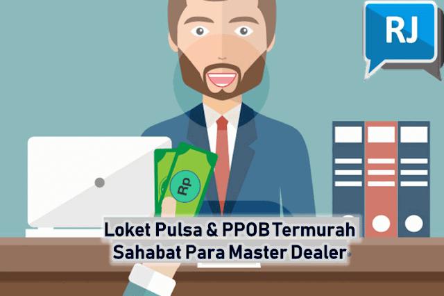 Loket Pulsa & PPOB Termurah Sahabat Para Master Dealer, Raja Pulsa Convert