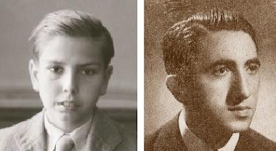 Los ajedrecistas españoles Arturito Pomar y Román Bordell