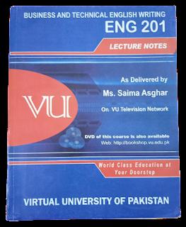 ENG201 Business and Technical English - VU Bookshop