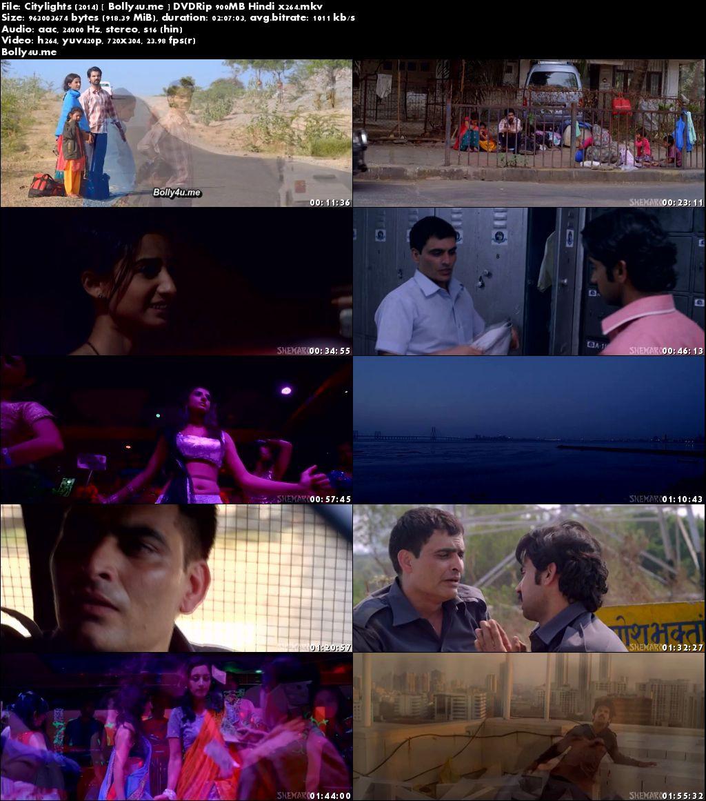 Citylights 2014 DVDRip 400MB Full Hindi Movie Download 480p