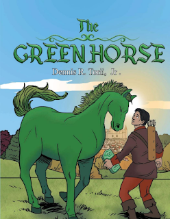dennis torii jr, the green horse, magic book, children's fantasy, children's fantasy horse, children's horse book, children's book author, writer interviews