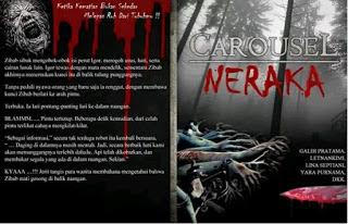 buku carousel neraka, buku cerita thriller, Telah terbit Antologi Thriller