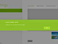 How to Solve Windows 8 Lock Screen Error