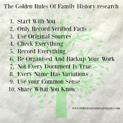 The-golden-rules-of-family-history-research-infographic-with-headings-written-as-above