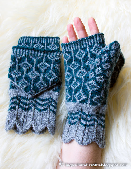 Klapiga labakud / Mittens with Flap