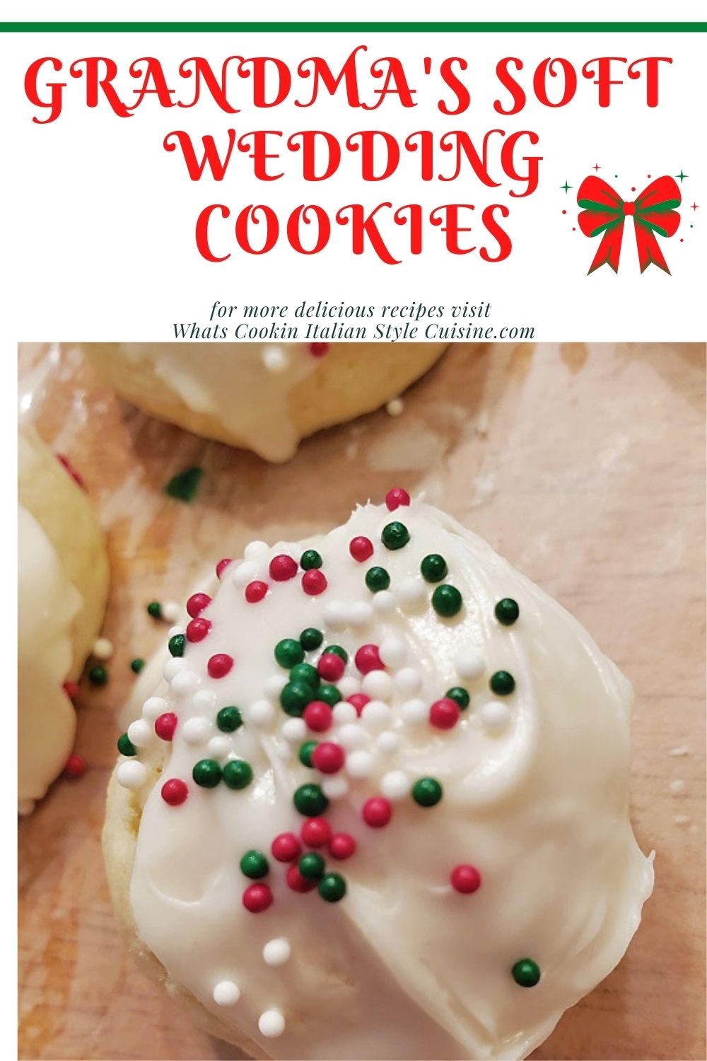 how to make soft wedding lemon cookies pin for later holiday version