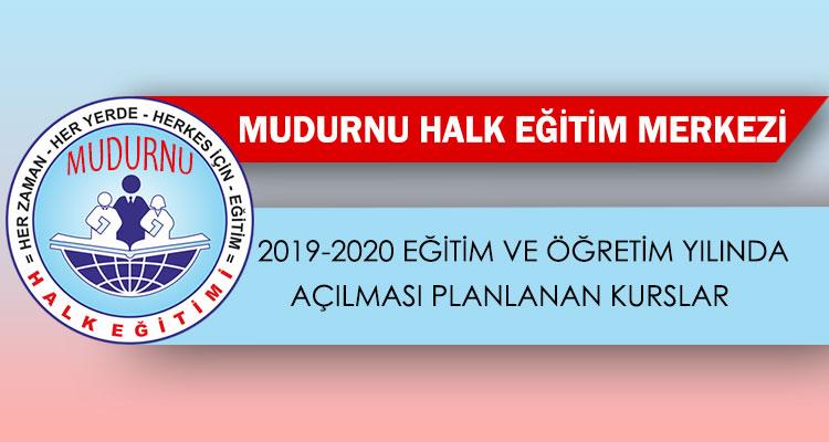 Halk Eğitim Merkezi'nde Açılması Planlanan Kurslar