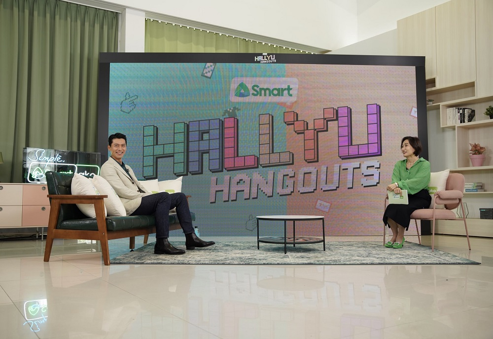 Smart Hallyu Hangouts with Hyun Bin