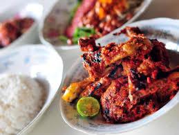 masakan ayam pedas khas Lombok