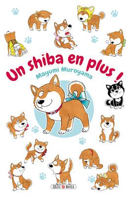 """couverture de """"UN SHIBA EN PLUS"""" de Mayumi Muroyama chez Soleil manga"""