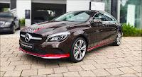 Mercedes CLA 200 2019 đã qua sử dụng màu Nâu