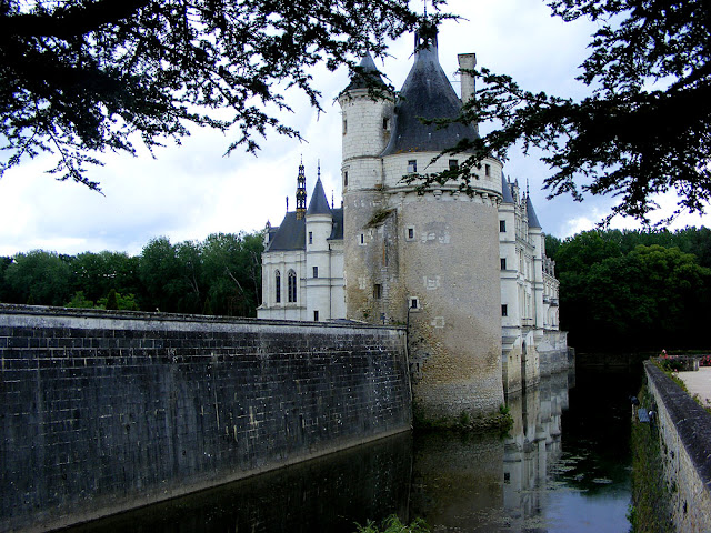 The Chateau of Chenonceau. Indre et Loire. France. Photo by Loire Valley Time Travel.