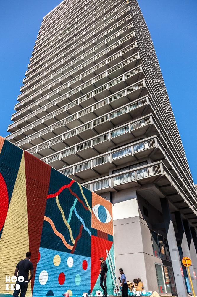 Hell'O Collective - Ostend Street Art Mural. Photo ©Hookedblog / Mark Rigney