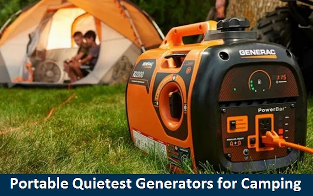 Portable Quietest Generators for Camping