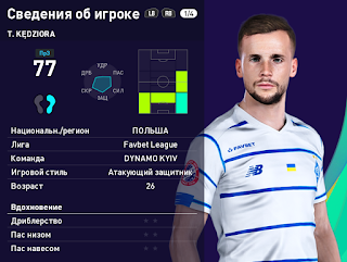 PES 2021 Faces Tomasz Kedziora by Serge