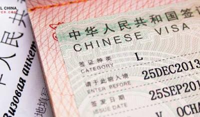jasa pengurusan visa china di cirebon