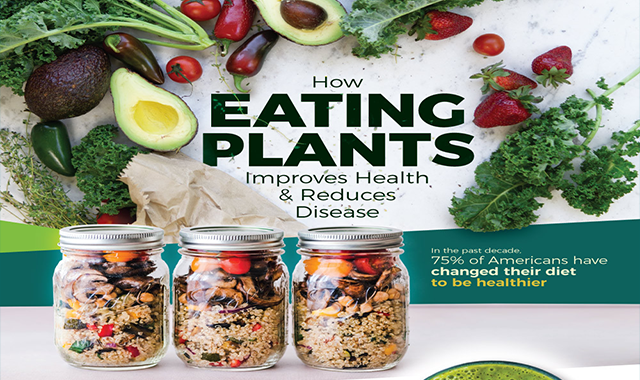 How Plant-based Diets Are Creating a Healthier America #infographic