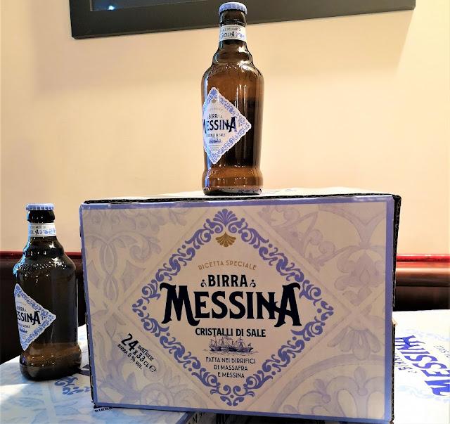 La Birra Messina cristalli di sale dei mari della Sicilia