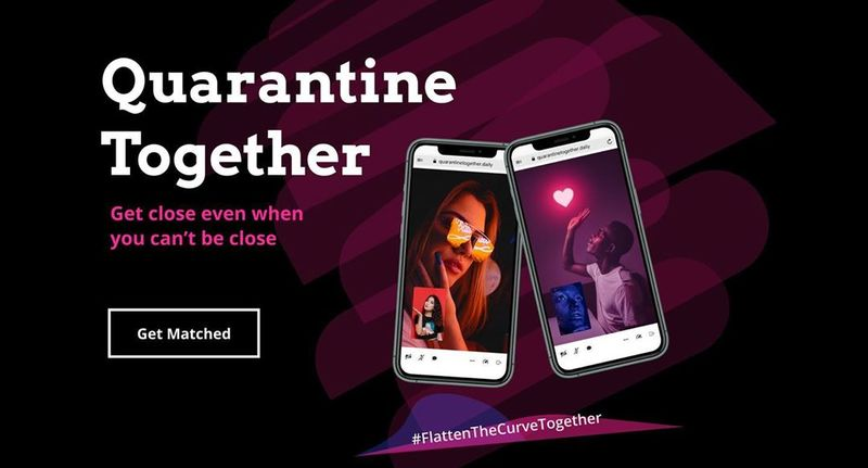 Quarantine Together Dating App