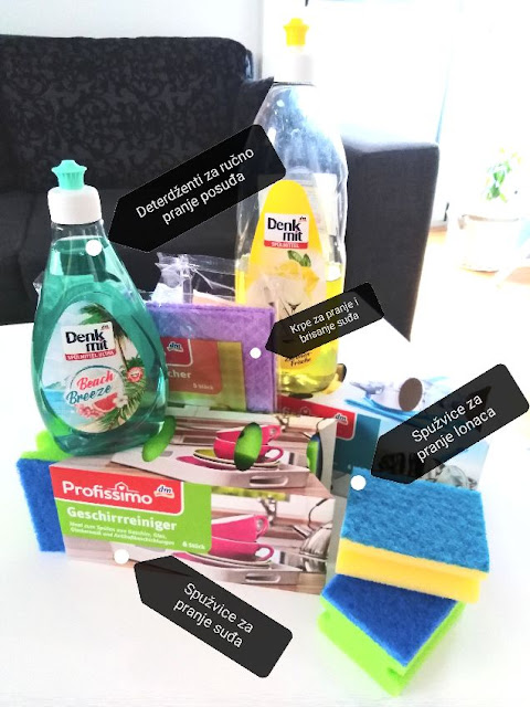 deterdžent za pranje posuđa