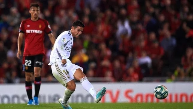 3 players expel James Rodriguez from Real Madrid