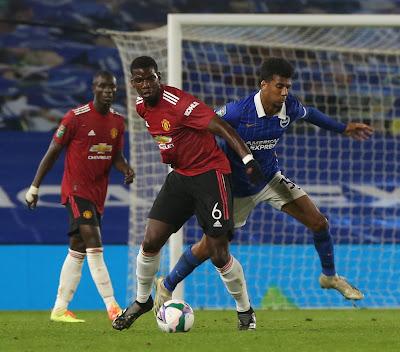 ملخص واهداف مباراة مانشستر يونايتد وبرايتون (3-0) كأس رابطة الاندية الانجليزية