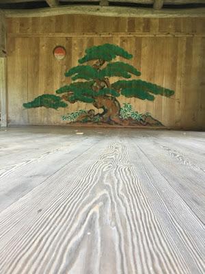 大膳神社 能舞台の鏡板