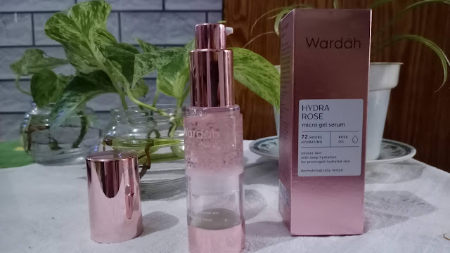 Wardah Hydra Rose Micro Gel Serum Astin Astanti