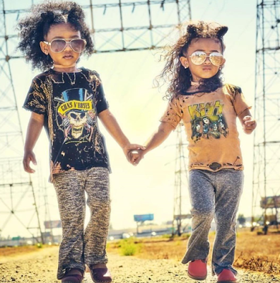 "Chris Brown Little Cute Daughter ""Royalty"" Stuns, As She Snags Her First Modeling Gig (Photos)"
