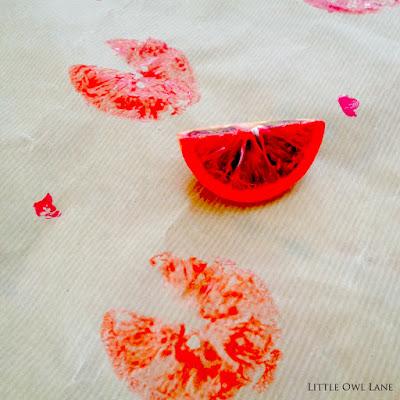 Citrus Valentine Craft Ideas | Little Owl Lane