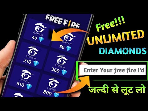 How to get free diamond in free fire ?