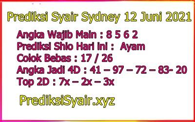 Syair petruk sydney 12 juni 2021
