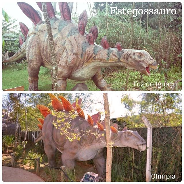 Vale dos Dinossauros - Olímpia SP