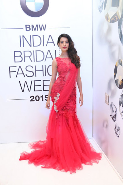 Sarah Jane Dias in Blood Red Gown