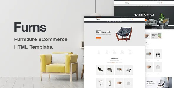 Best Furniture eCommerce HTML Template