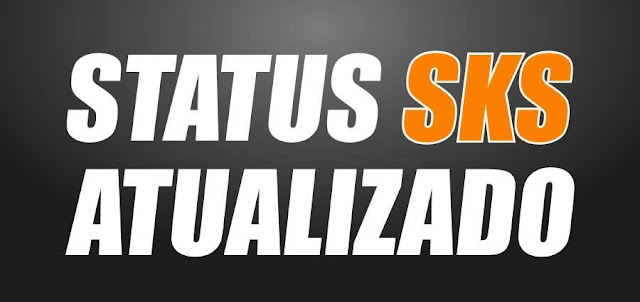 Status Atualizado do Sistema SKS dos Receptores