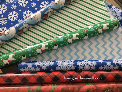 Everyone gets a different colour wrapping paper