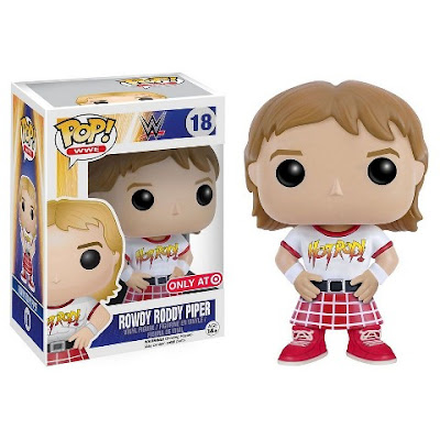 Target Exclusive WWE Rowdy Roddy Piper Pop! Vinyl Figure by Funko