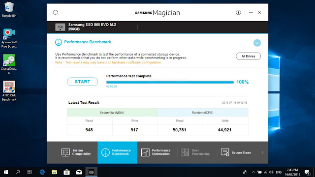 samsung evo 860 ssd 250gb review