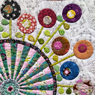 Down the Rabbit Hole quilt: QuiltBee