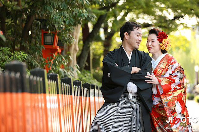 京都での前撮りロケーション撮影