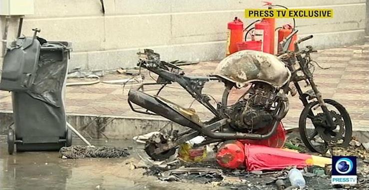 Pessoas sendo assassinadas pelo o Estado por protestar por seus direitos no Irão