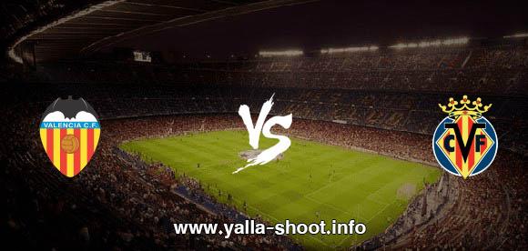 نتيجة مباراة فياريال وفالنسيا اليوم الأحد 18-10-2020 يلا شوت الجديد في الدوري الاسباني