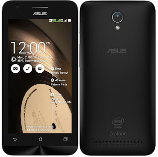 Display Asus Zenfone C Specs
