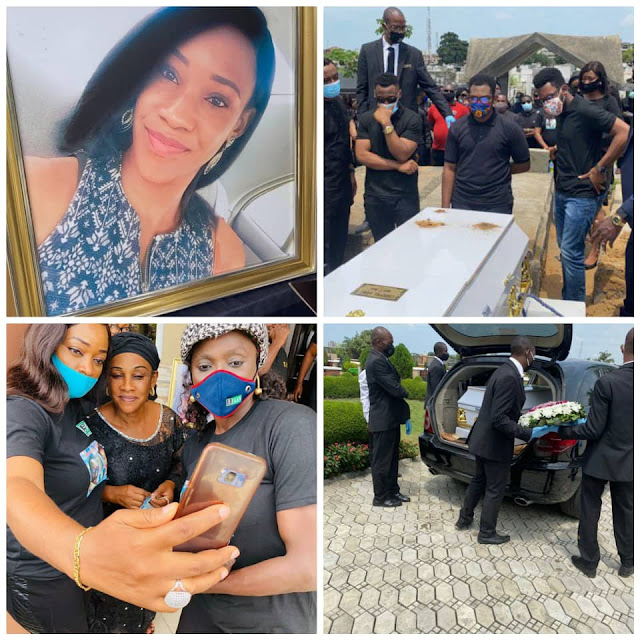 As FAAN Worker Who Was Crushed To Death By Fallen Container Is Laid To Rest