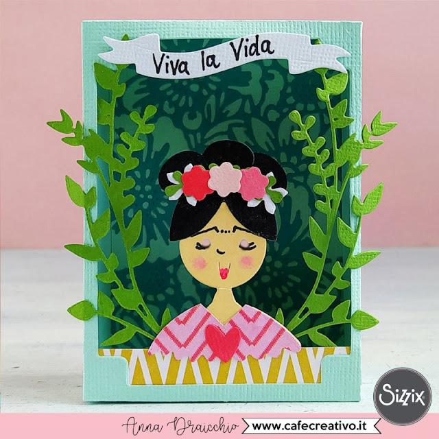 Shadow Box Frida o Geisha? Viva la Vida!