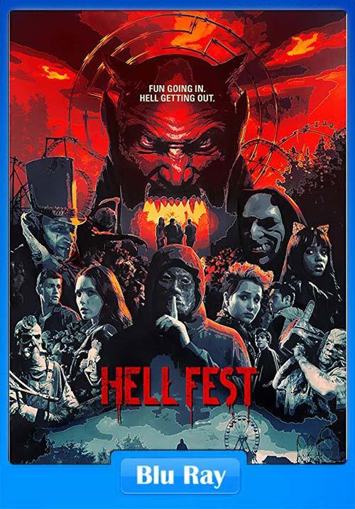 Hell Fest 2018 720p BRRip x264 | 480p 300MB | 100MB HEVC