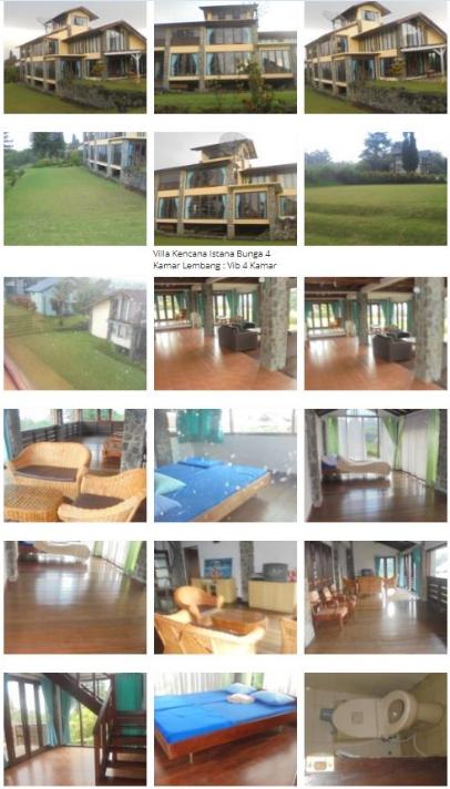 Villa Kencana Lembang - Villa 4 Kamar